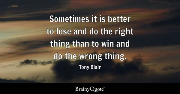 I Follow Three Rules Do The Right Thing Do The Best You: Do The Right Thing Quotes