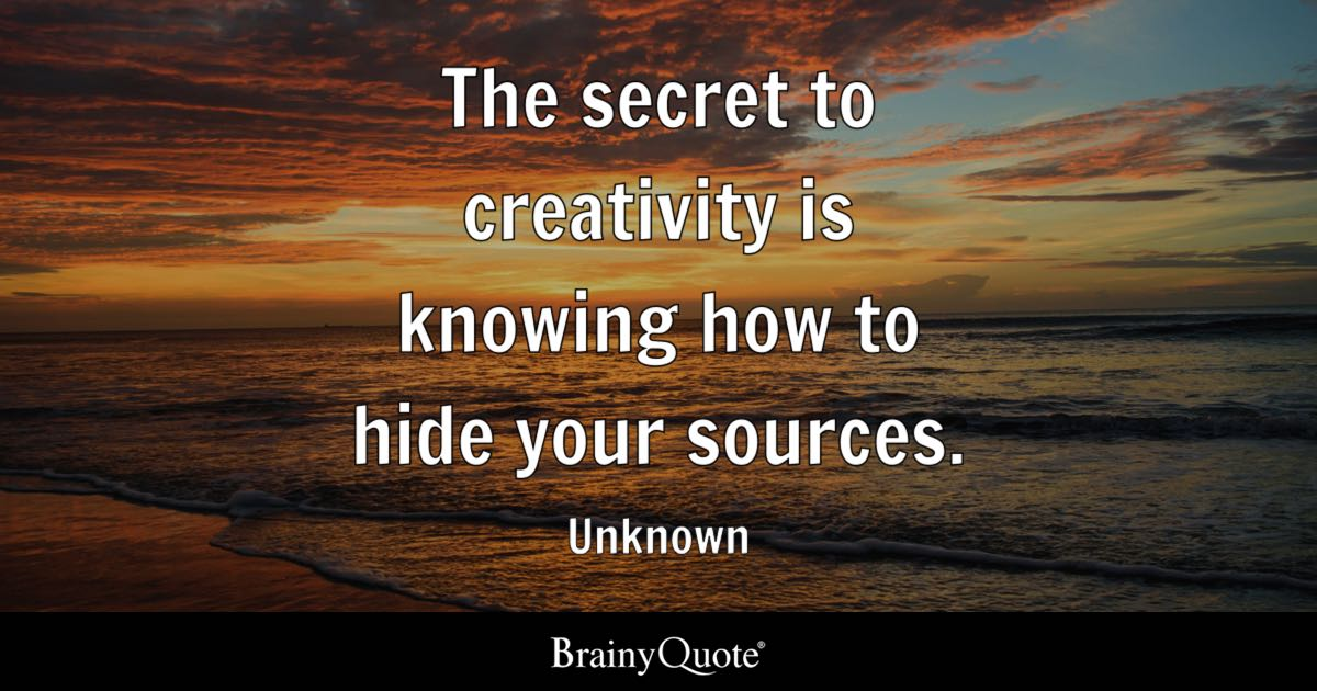 the secret to creation essay The original material for the current law of attraction wave that is sweeping the world and the fountainhead of which the movie, the secret was based.