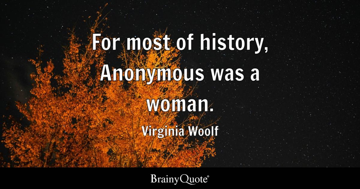 Virginia Woolf Quotes BrainyQuote Amazing Anonymous Quotes About Friendship