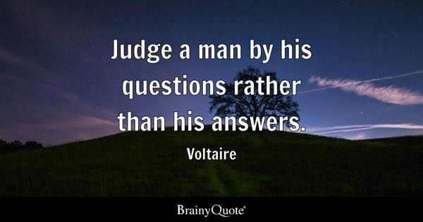 Questions Quotes Brainyquote