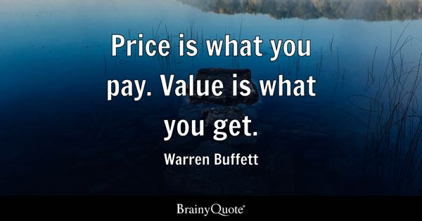 Price Quote Awesome Price Quotes BrainyQuote