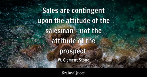 Sales Quotes Beauteous Sales Quotes  Brainyquote