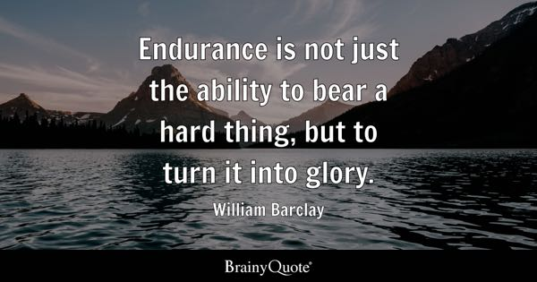 Endurance Quotes Brainyquote