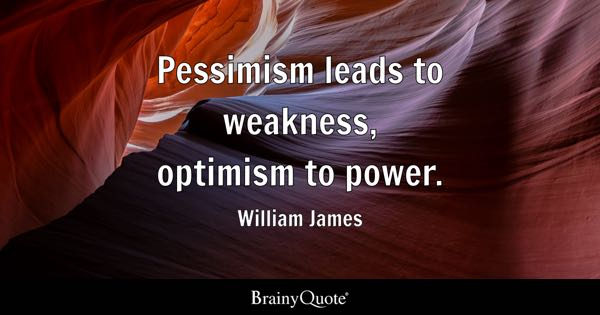 Quotes About Optimism Adorable Optimism Quotes  Brainyquote