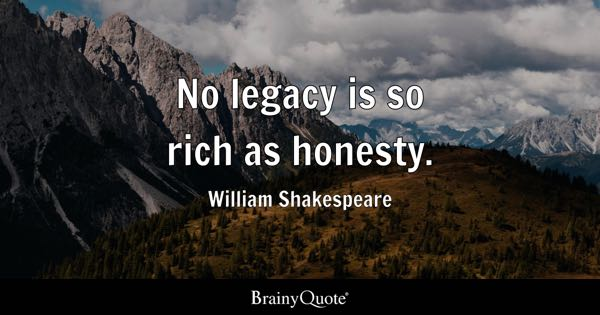 Quotes About Honesty In Friendship Classy Honesty Quotes  Brainyquote