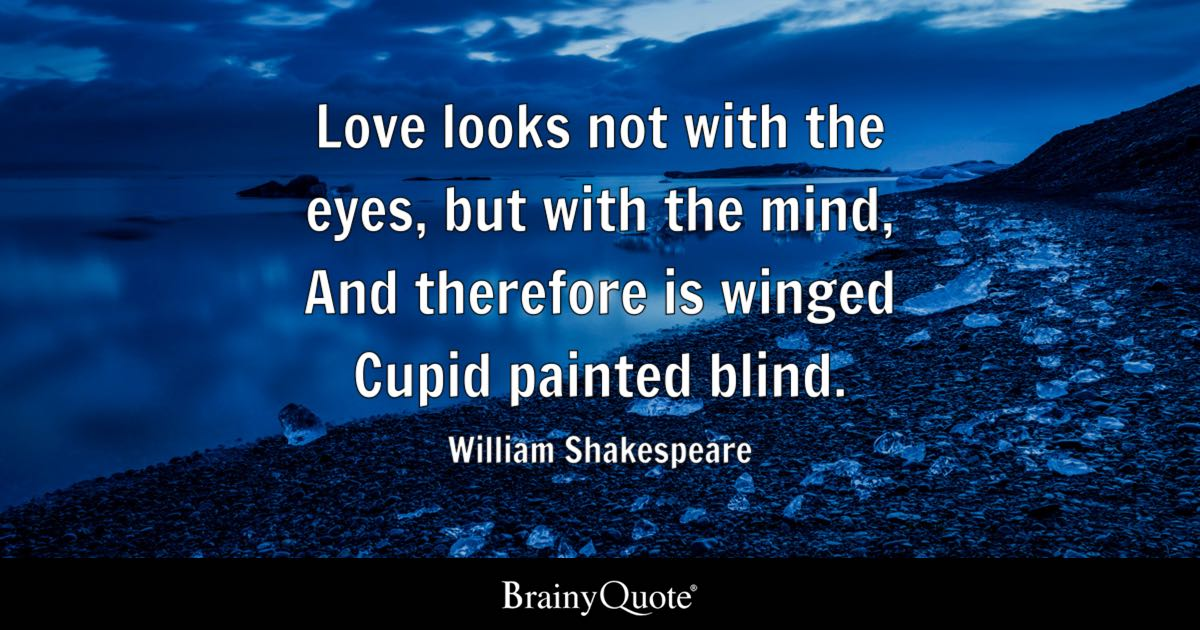Shakespeare cupid quote