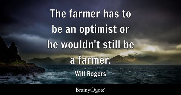 Farming Quotes Interesting Farmer Quotes  Brainyquote