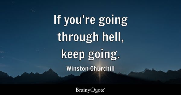 Keep Going Quotes Brainyquote