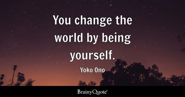Being Yourself Quotes Brainyquote