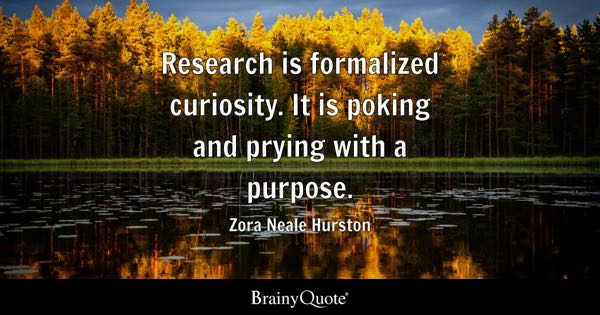 Quotes On Research Impressive Research Quotes  Brainyquote